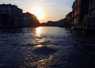 Venice at sunset 1
