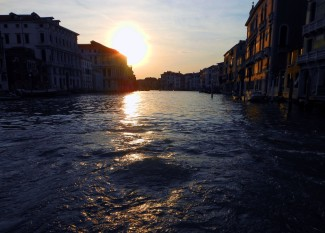 Venice at sunset 1